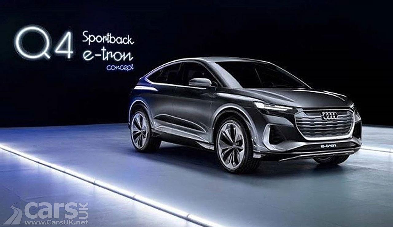 Photo Audi Q4 E-tron Sportback Concept
