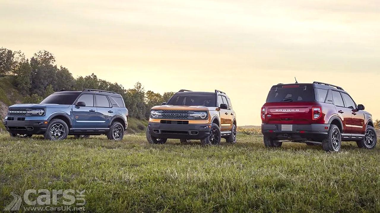 Photo New Ford Bronco Range