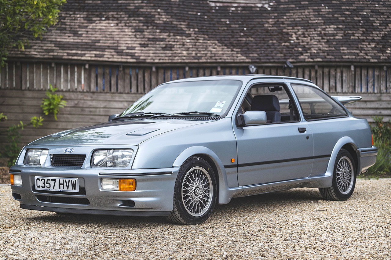 Photo Pre-production Ford Sierra RS Cosworth