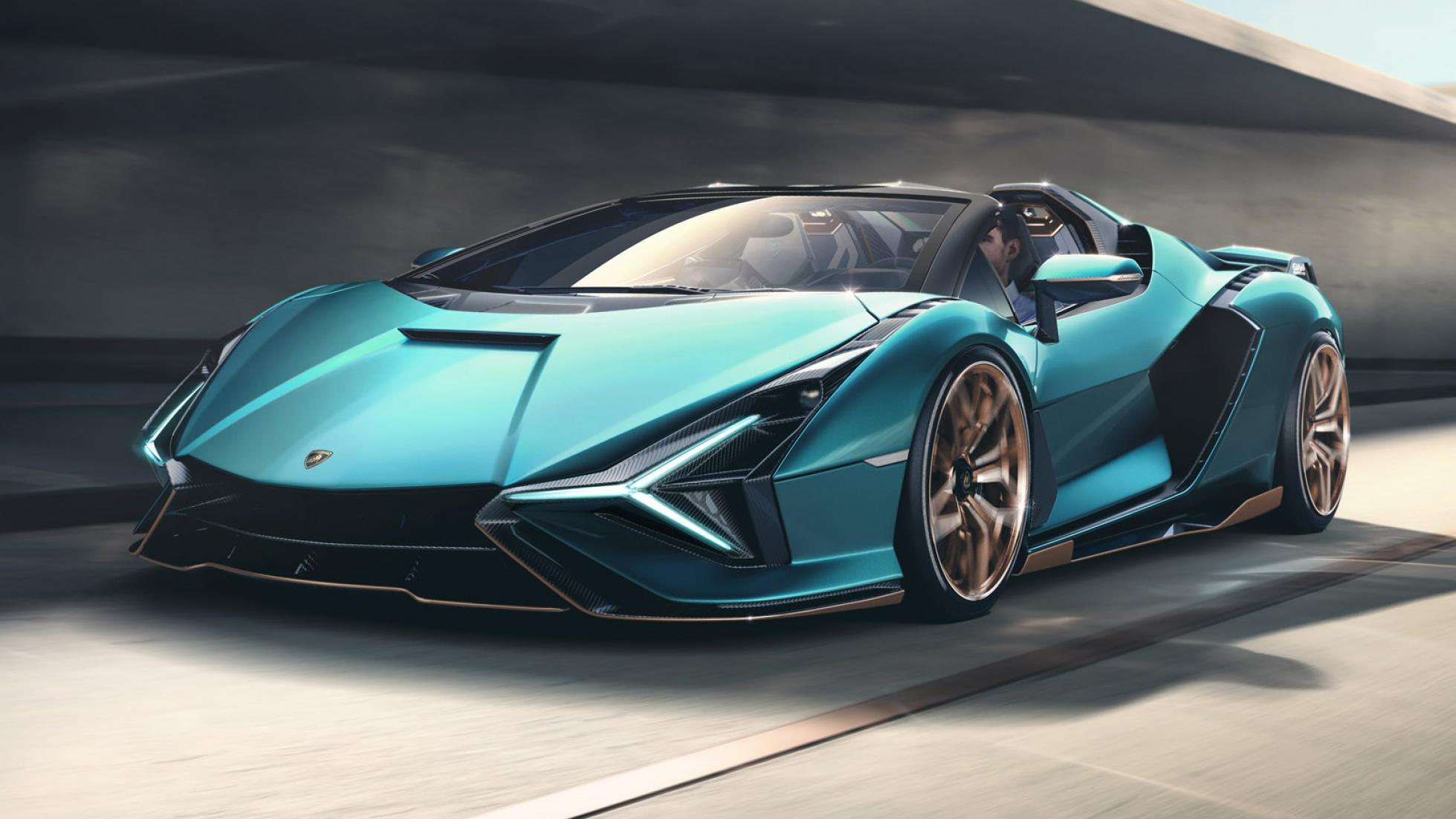 Photo Lamborghini Sian Roadster