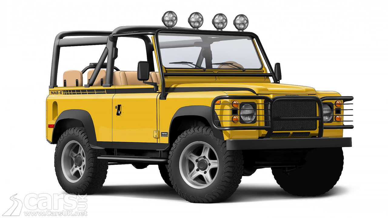 Photo Electric Land Rover Defender by Twisted
