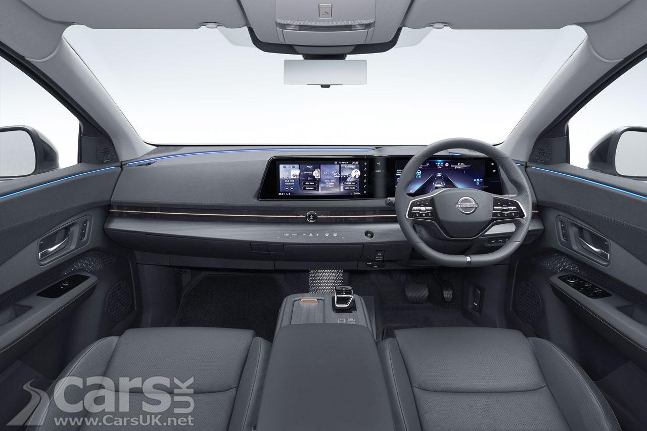 Photo Nissan Ariya Interior