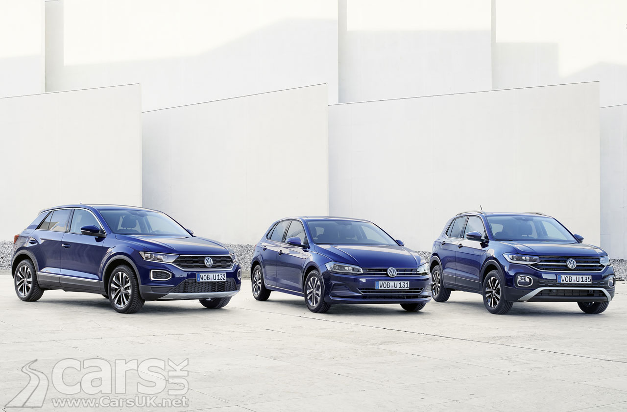 Photo Volkswagen Polo, T-Cross and T-Roc UNITED Models