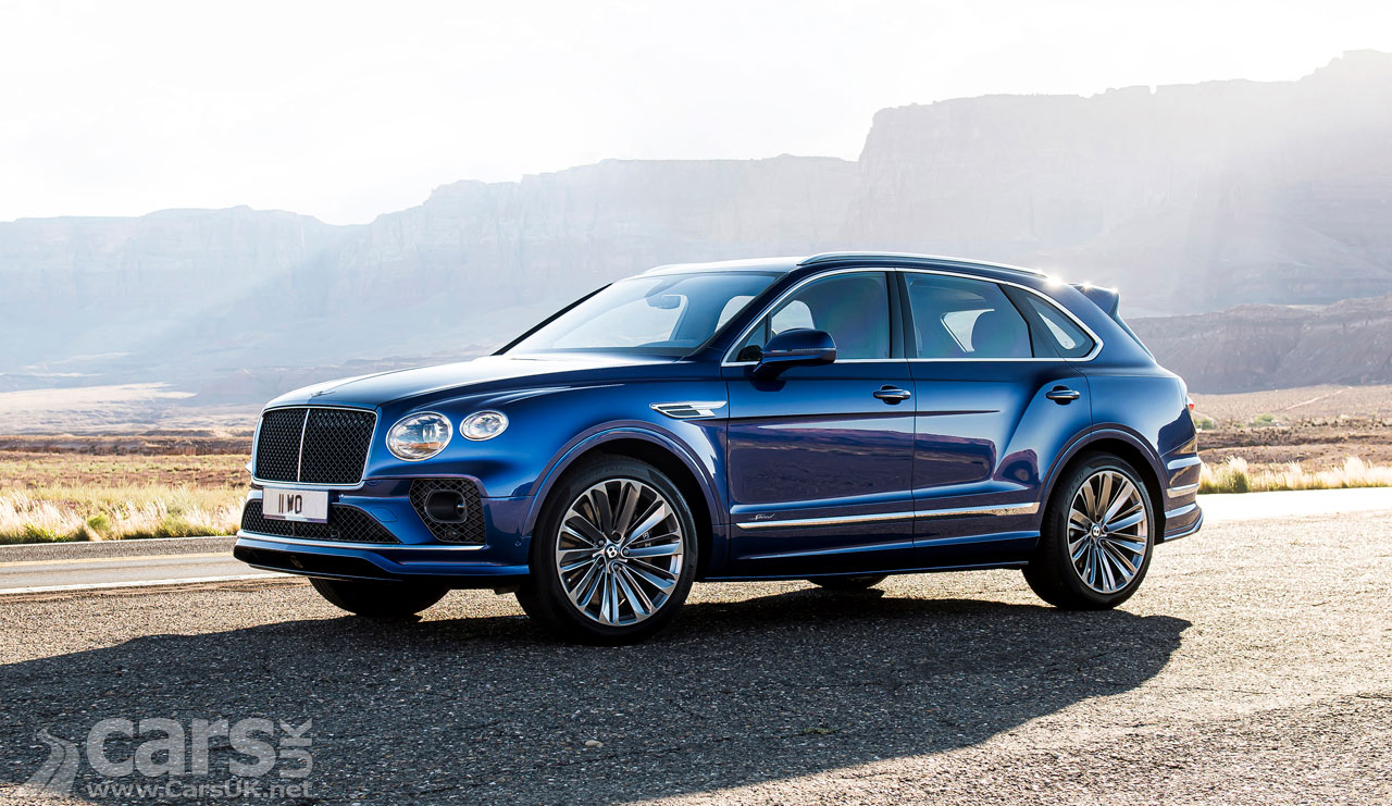 Photo New Bentley Bentayga Speed