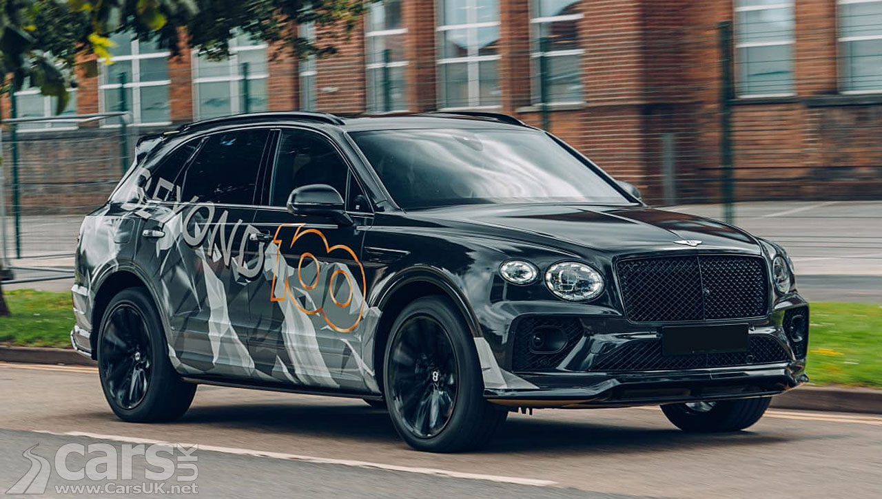 Photo New Bentley Bentayga Speed tease