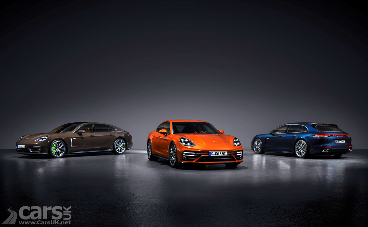 Photo New Porsche Panamera range