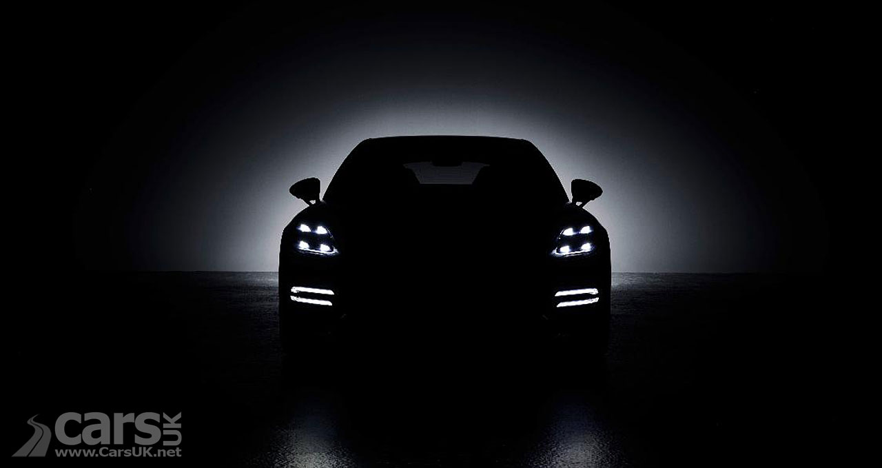 Photo Porsche Panamera Facelift tease