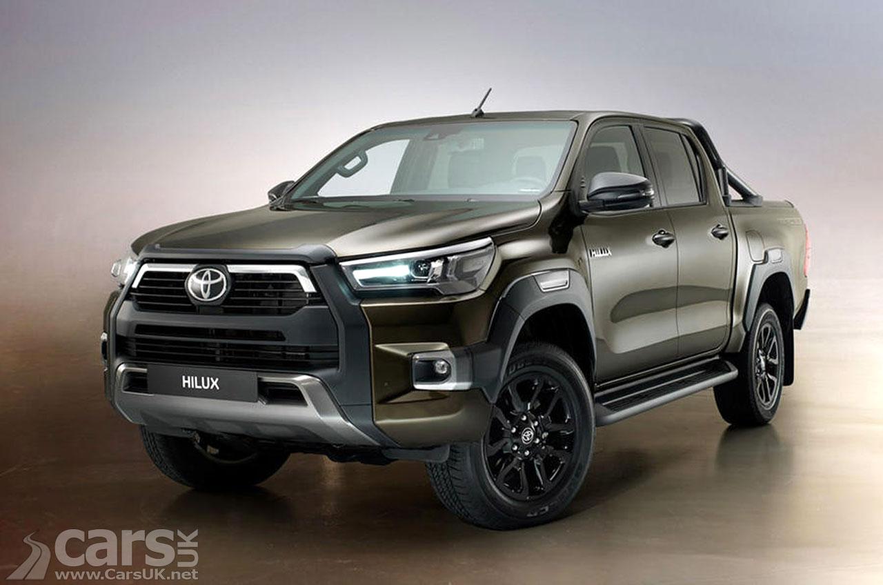 Photo 2020 Toyota Hilux Pick-up UK