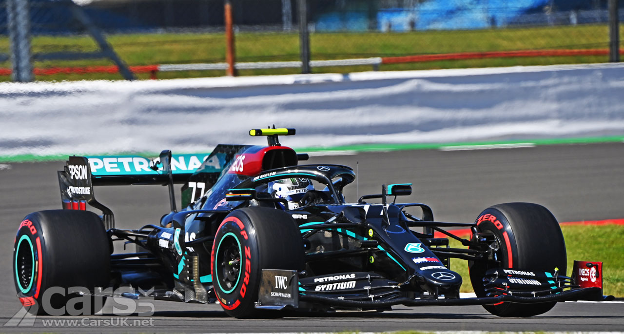 Photo Bottas takes 70th Anniversary Grand Prix POLE
