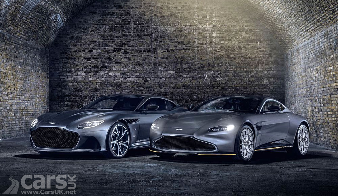 Photo Aston Martin 007 Edition DBS Superleggera and Vantage