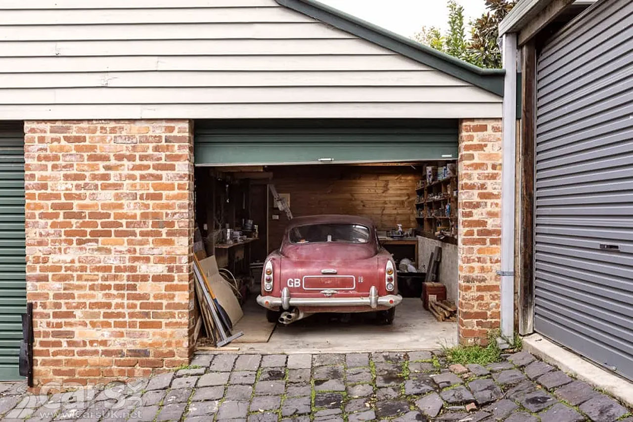 Photo Aston Martin DB4, first owned by David Brown