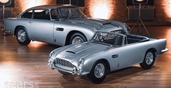 Photo Aston Martin and The Little Car Company DB5