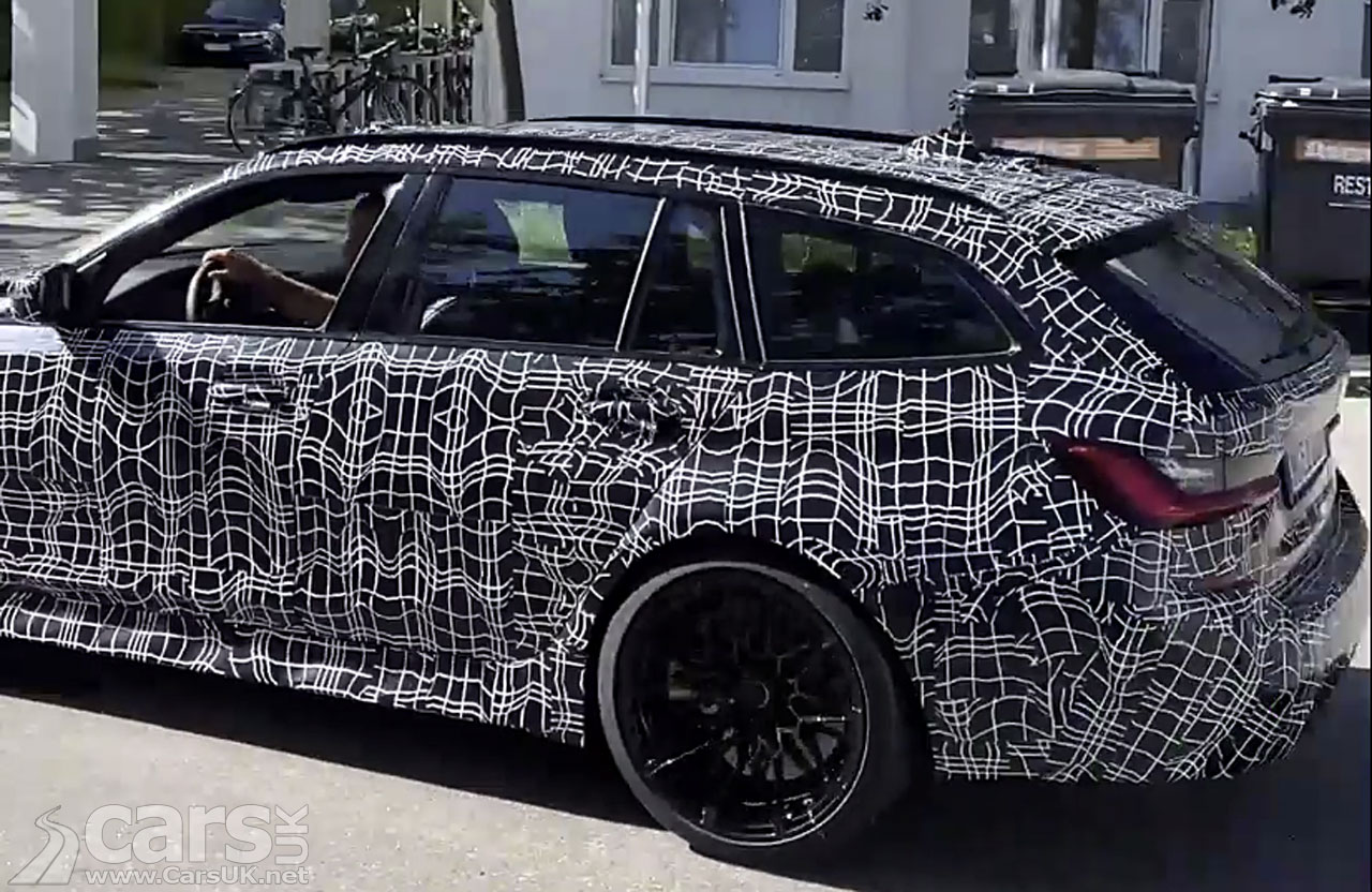 Photo BMW M3 Touring on video