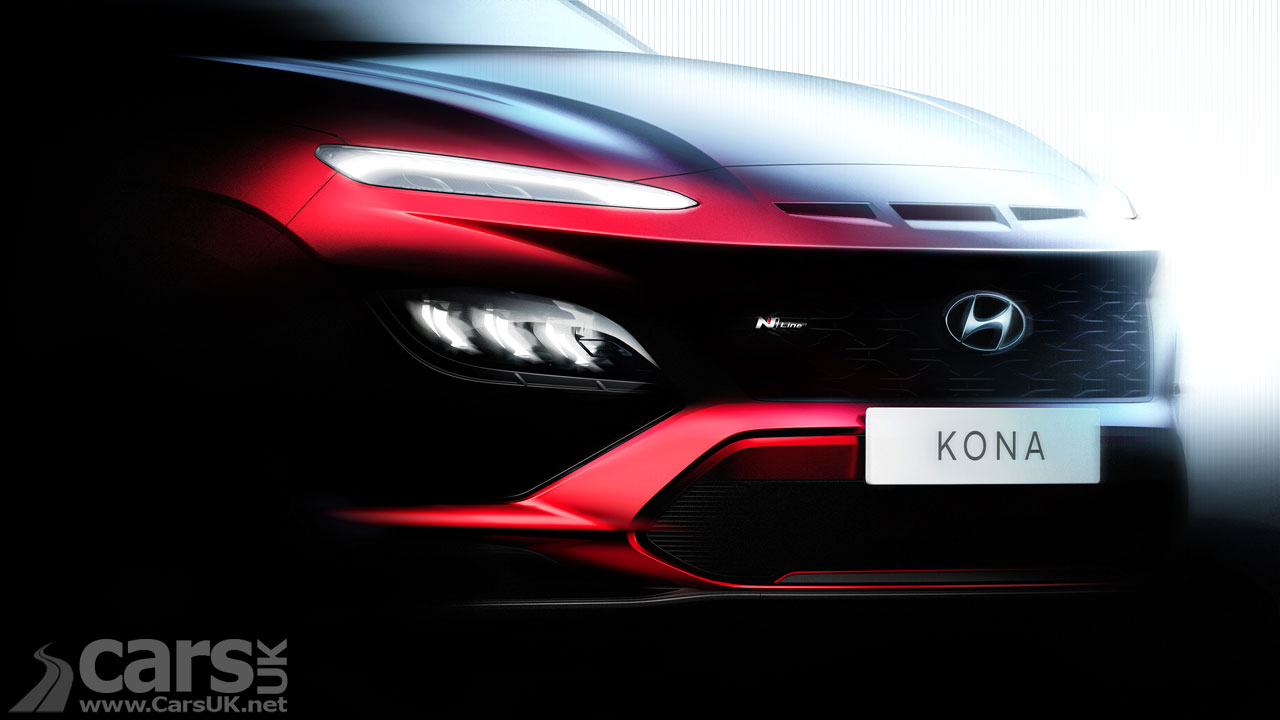 Photo Hyundai Kona Facelift Teaser