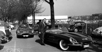 Photo Jaguar E-types '77 RW' and '9600HP' Geneva 1961