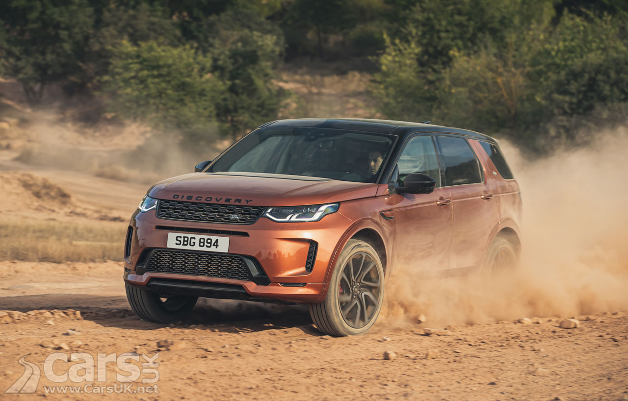 Photo Land Rover Discovery Sport Black