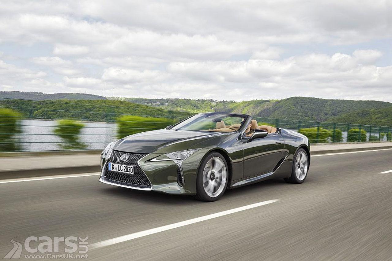 Photo New Lexus LC 500 Convertible UK prices