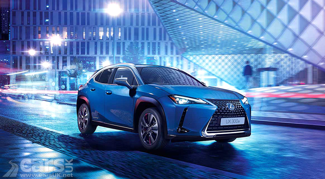 Photo Lexus UX 300e Electric UK