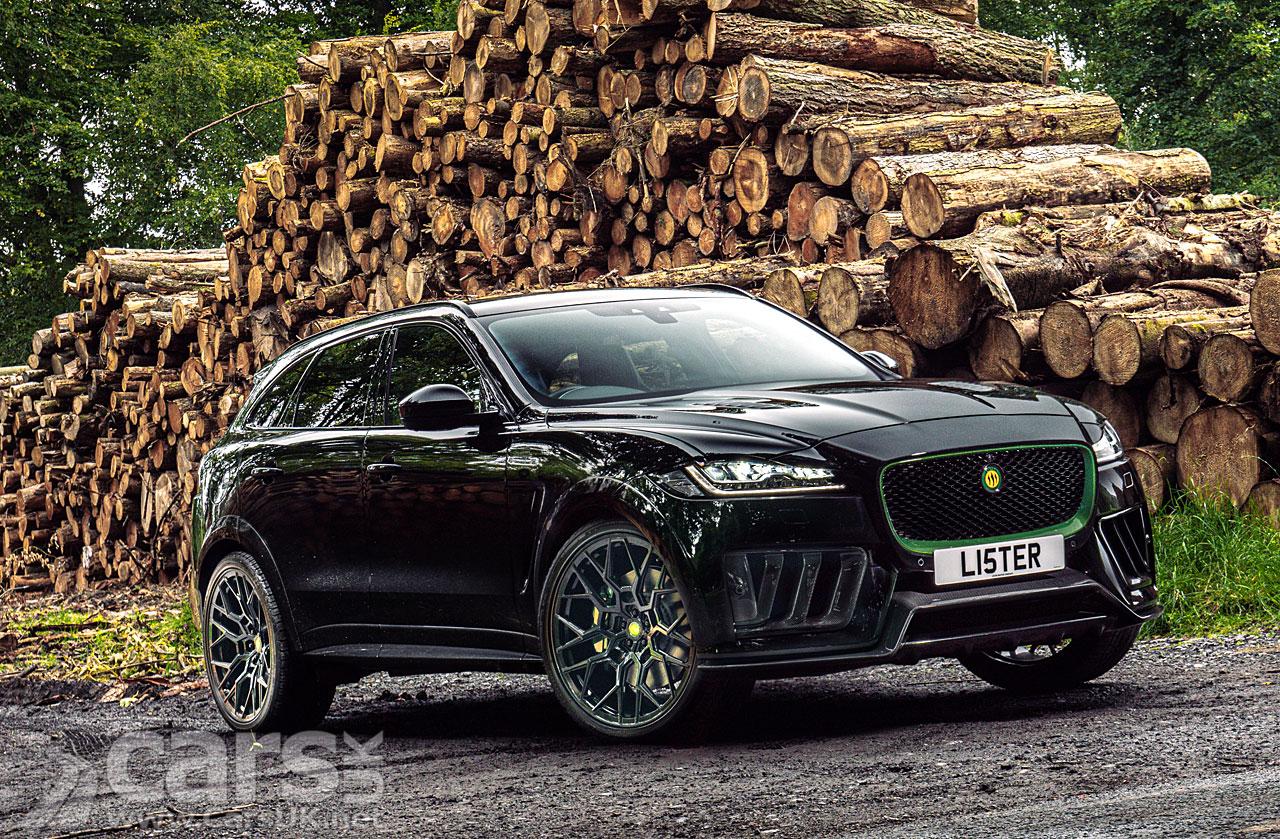 Photo Jaguar F-Pace Lister Stealth