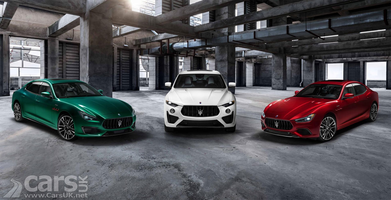 Photo Maserati Ghibli Trofeo and Quattroporte Trofeo join the Levante Trofeo
