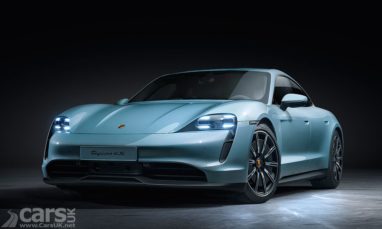 Photo Electric Porsche Taycan upgraded for 2021