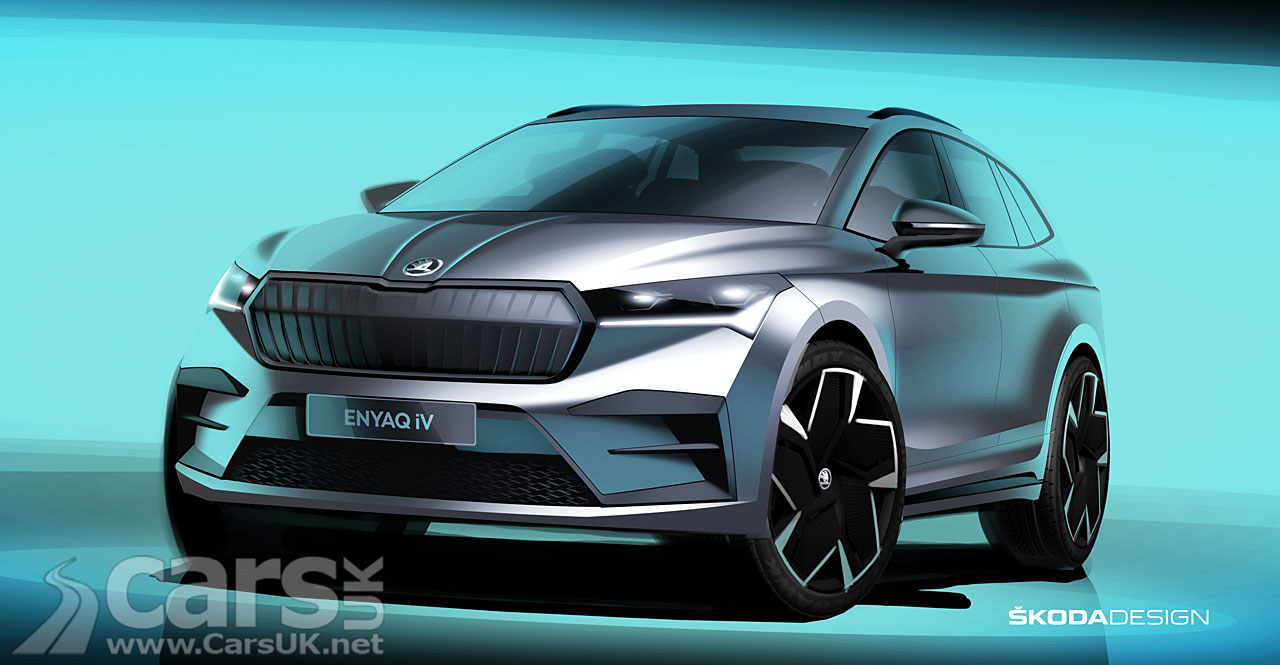 Photo Skoda Enyaq iV tease