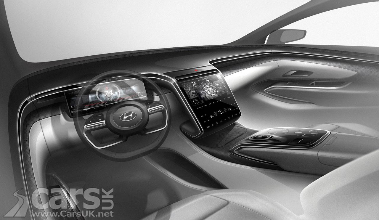 Photo New Hyundai Tucson interior