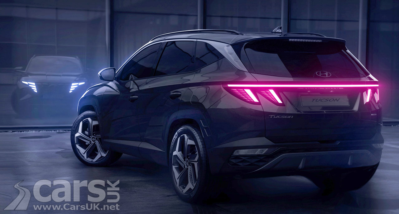 Photo New Hyundai Tucson tease rear view