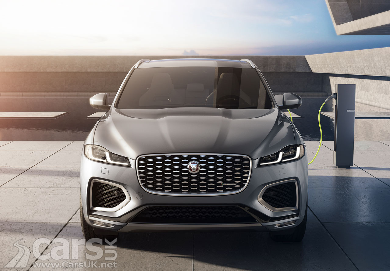 Jaguar F Pace Gets A Bit Of A Titivate And Jaguar Land Rover S P400e Plug In Hybrid Option Cars Uk