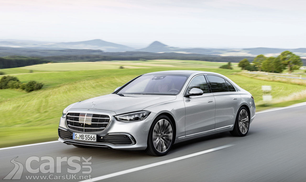Photo new Mercedes S-Class UK
