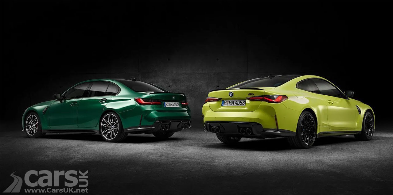 Photo New BMW M3 and M4 rear view