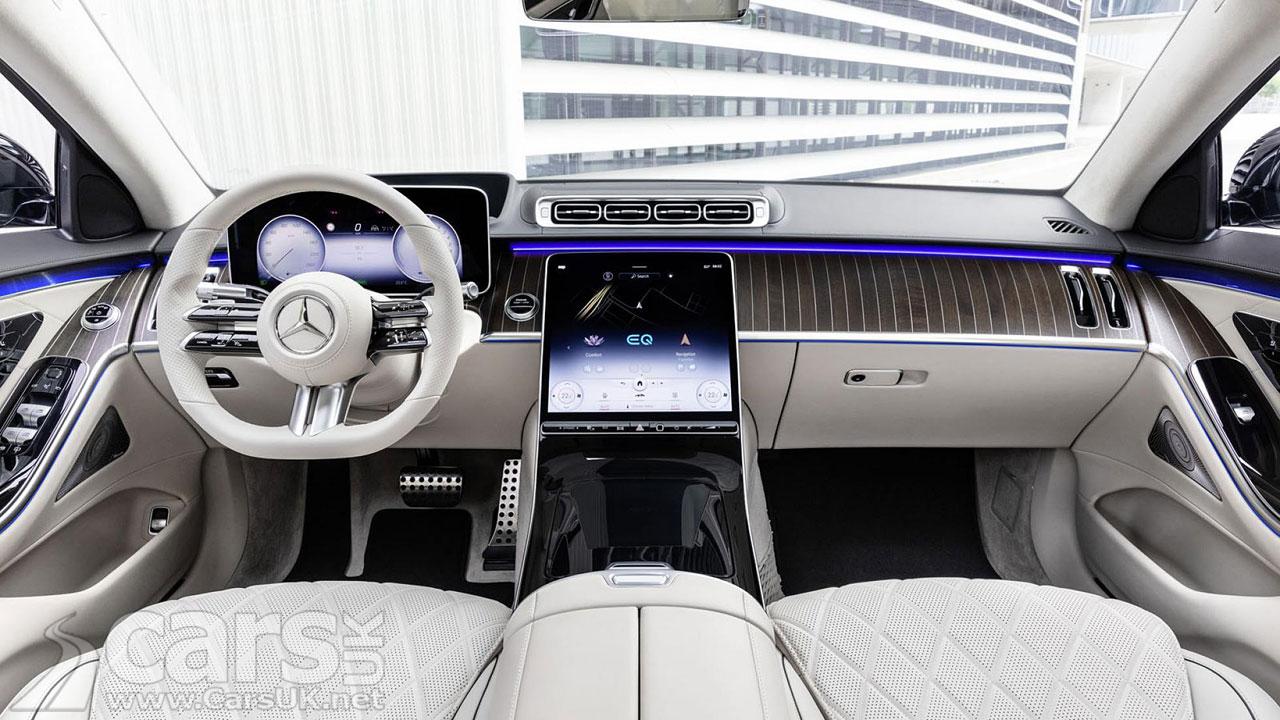 Photo New Mercedes S-Class Interior