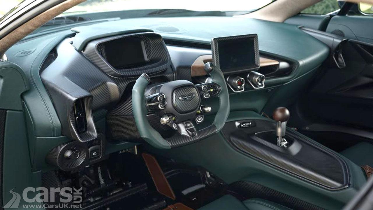 Photo Aston Martin Victor Interior