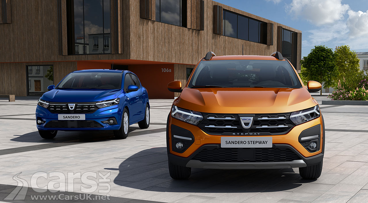 Photo New Dacia Sandero and Sandero Stepway previewed