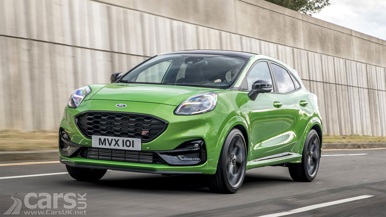 New Ford Puma ST-Line Vignale Wants To Be Sporty And Posh ...