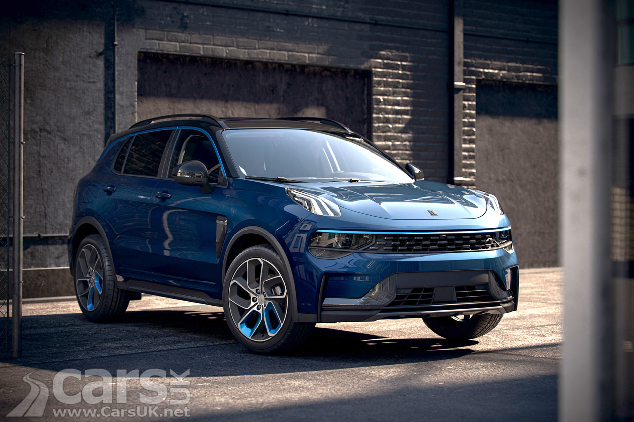 Photo Lynk & Co 01 Electric SUV