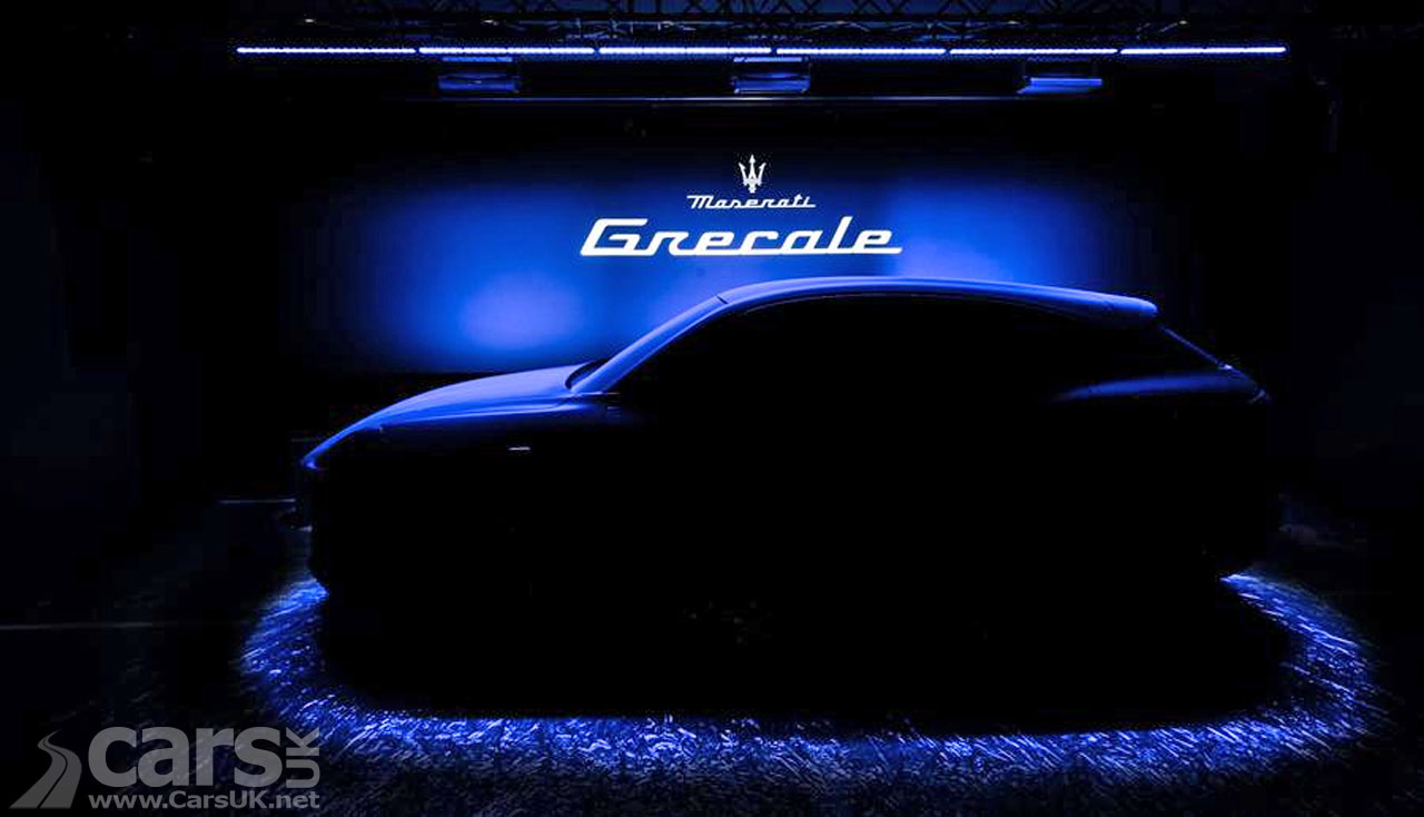 Photo Maserati Grecale SUV Tease
