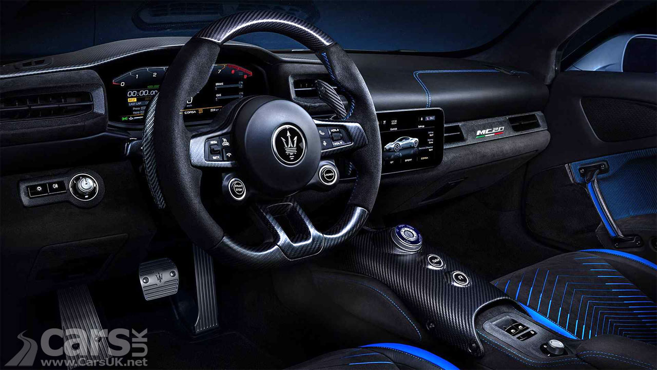 Photo Maserati MC20 Interior