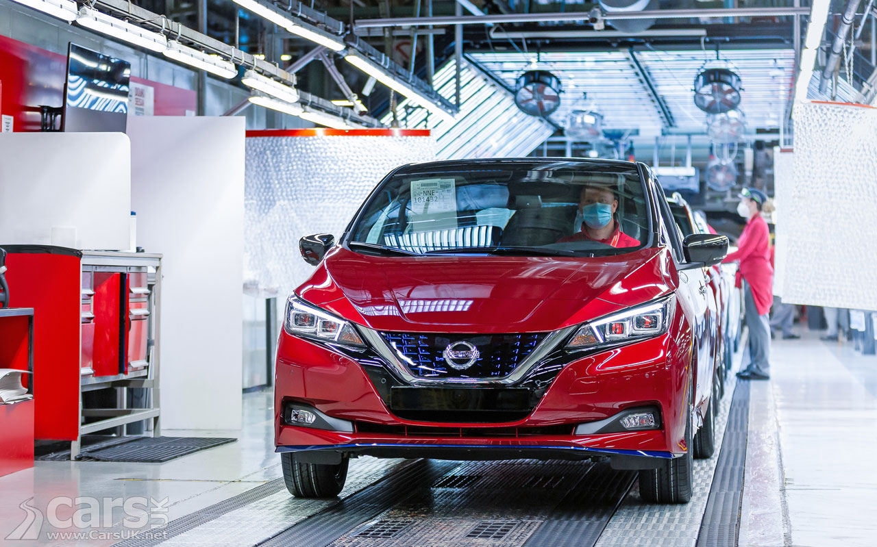 Photo The 500,000th Nissan LEAF