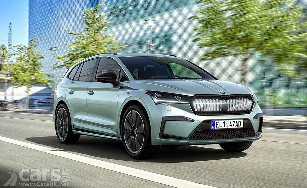 Photo Skoda Enyaq iV electric SUV