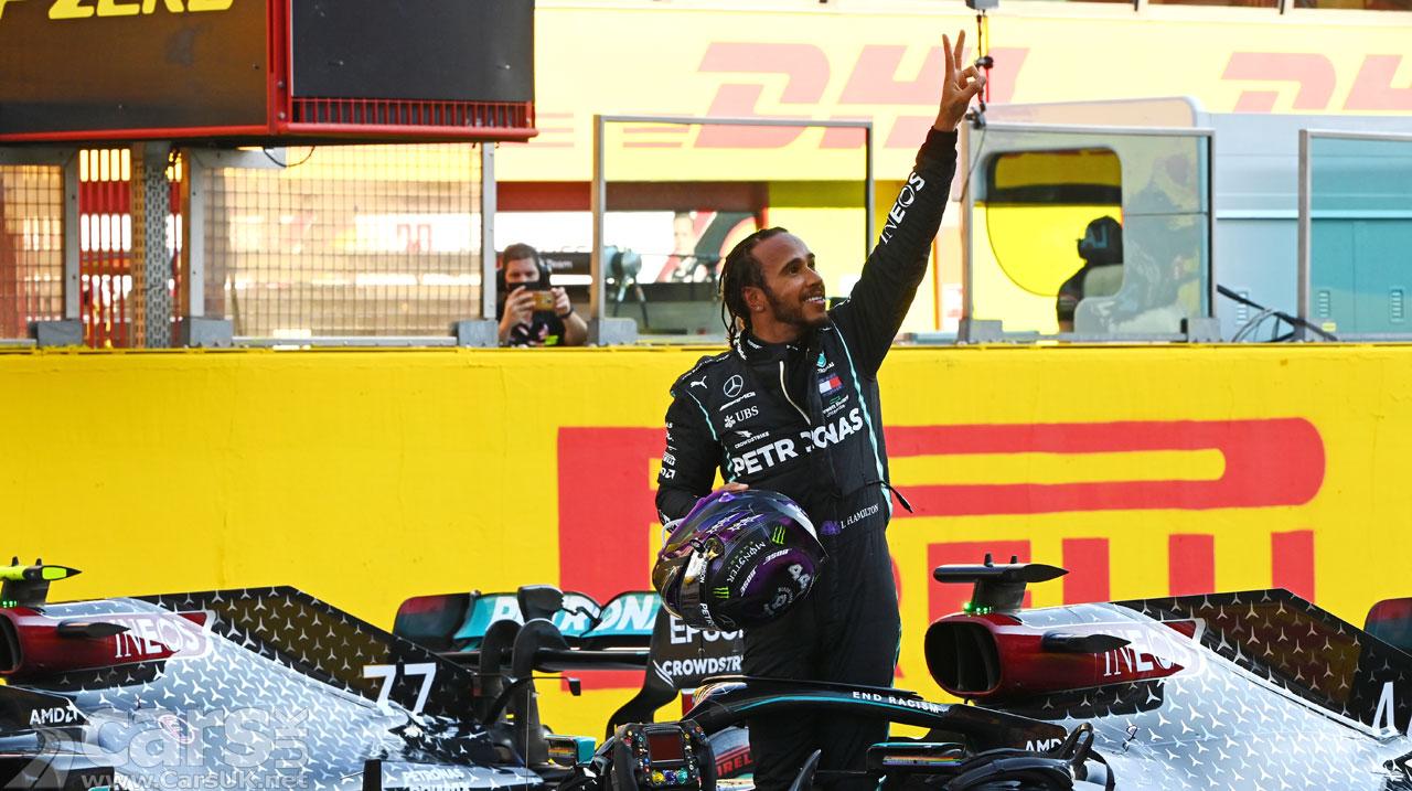 Photo Lewis Hamilton wins Tuscan Grand Prix