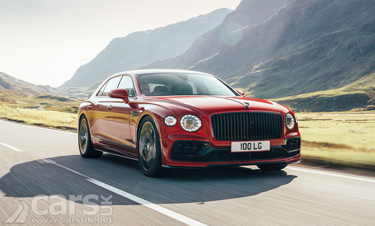 Photo New Bentley Flying Spur V8