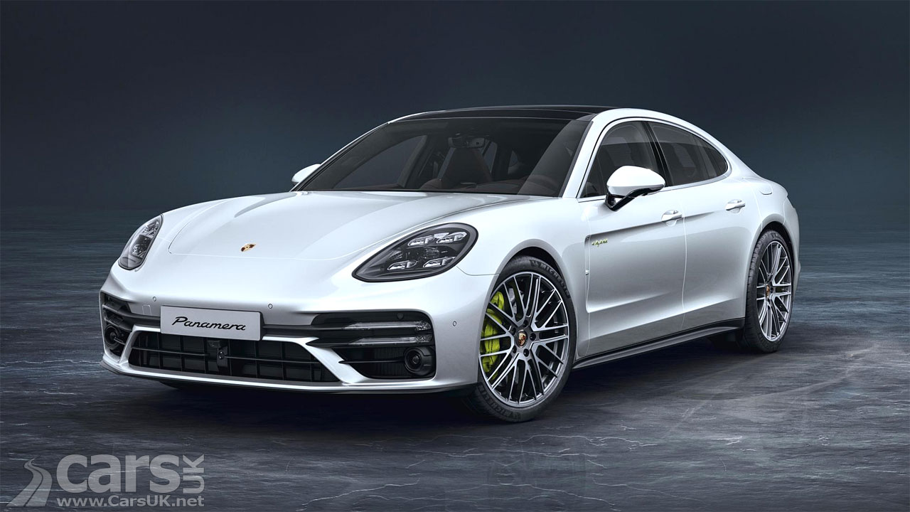 Photo New Porsche Panamera Turbo S E-Hybrid