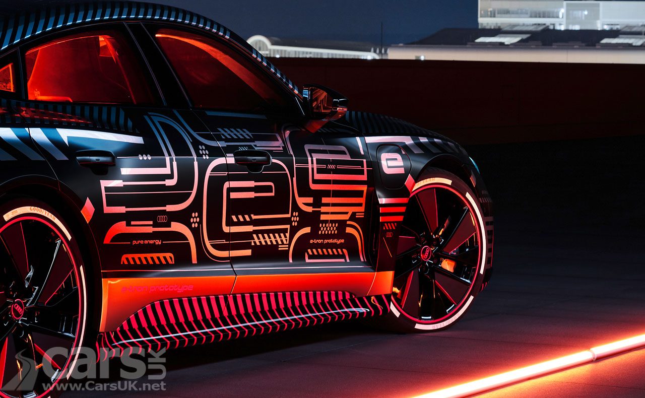 Photo Audi e-tron GT tease
