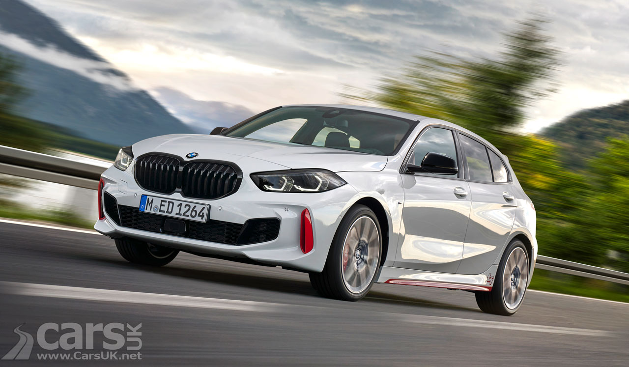 New BMW 128ti First Official Photo