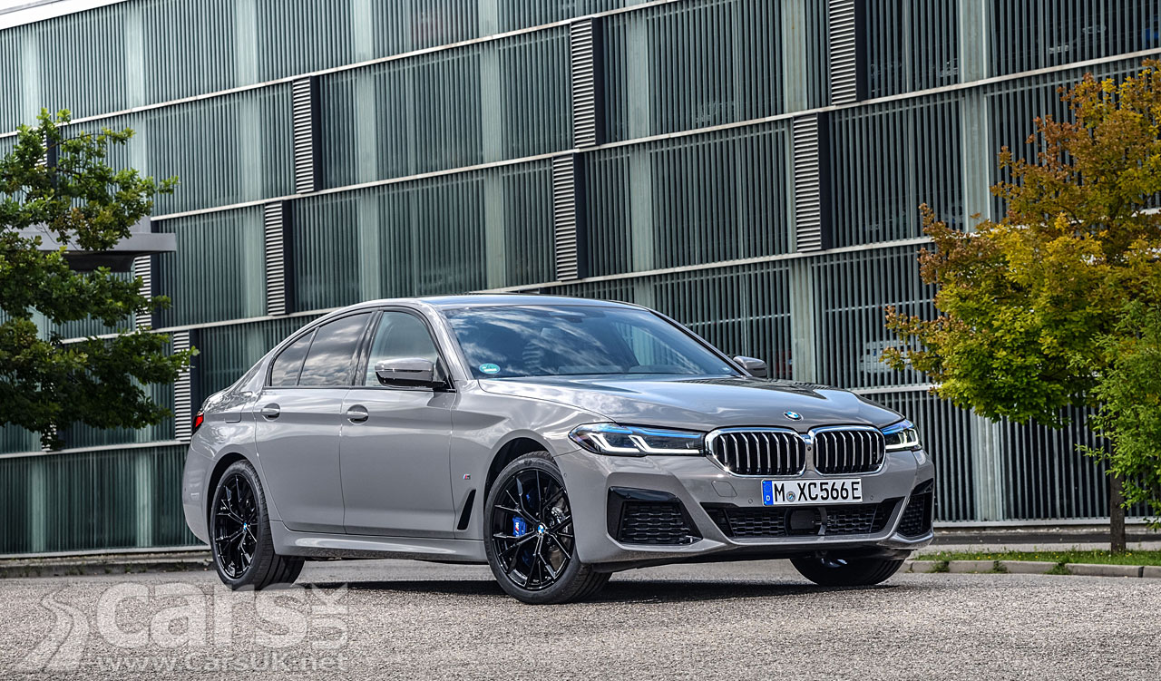 Photo BMW 545e xDrive plug-in hybrid