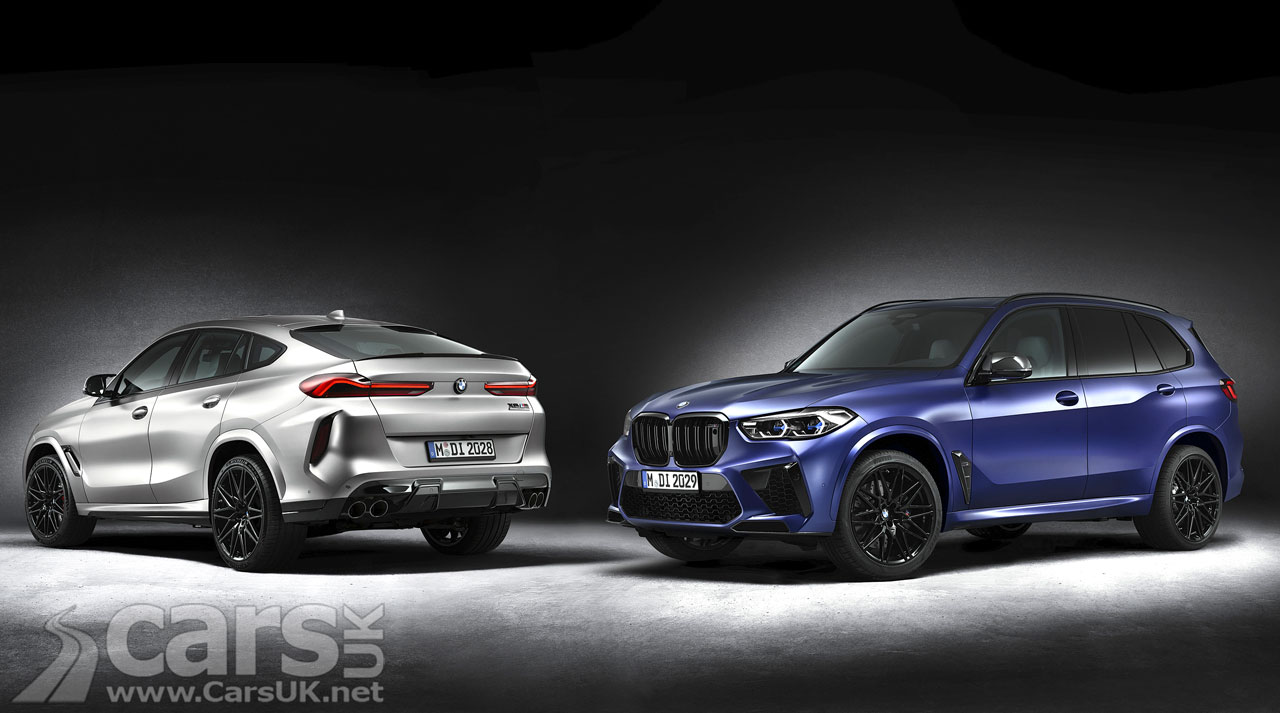 Photo BMW X5 M Competition and BMW X6 M Competition First Editions