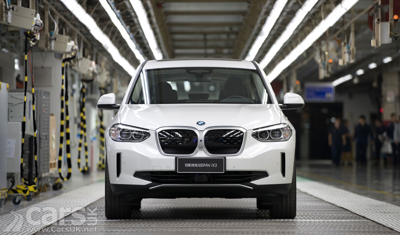 Photo Electric BMW ix3 goes in to production