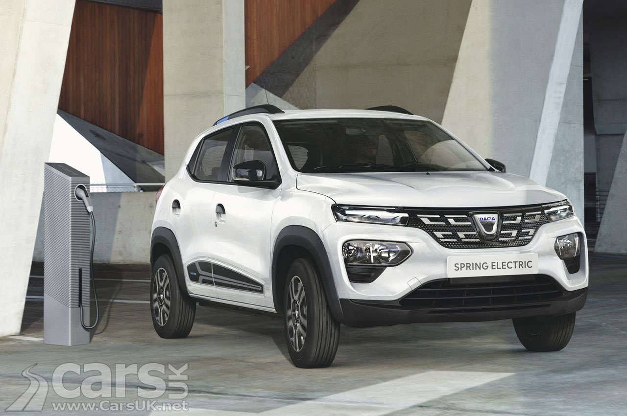 Photo Dacia Spring Electric