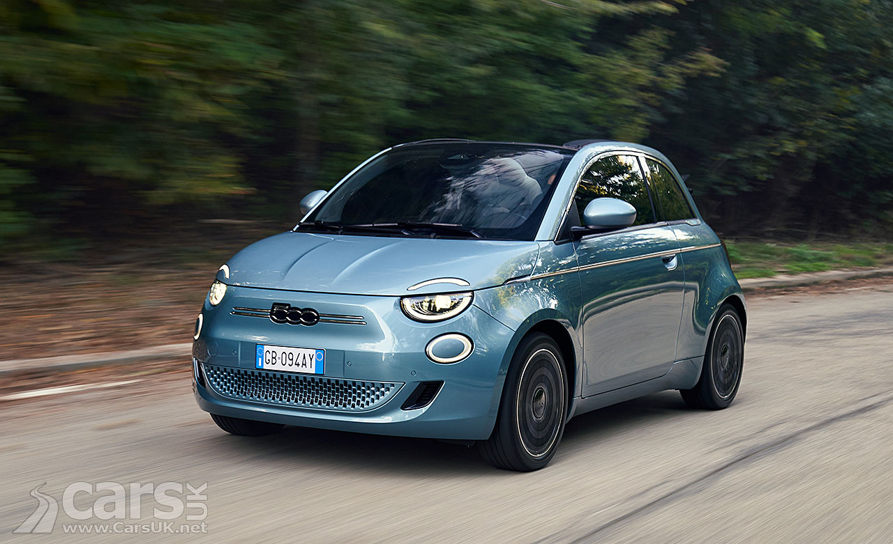 Photo electric Fiat 500 UK
